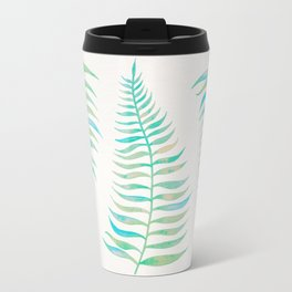 Palm Leaf – Sea Foam Palette Travel Mug