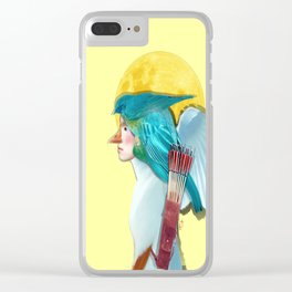 Moon Hunter Clear iPhone Case