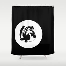 upward Shower Curtain