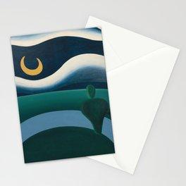 Tarsila do Amaral - A Lua - Art Poster Stationery Cards