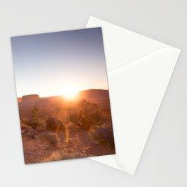 Setting Desert Sun Stationery Cards