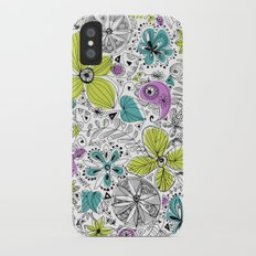 Doddle flowers Slim Case iPhone X