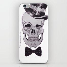 Classy Skull iPhone Skin