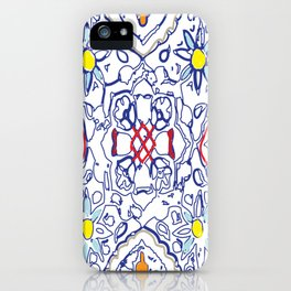 Isola Sunset Signature Print iPhone Case
