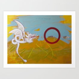 Of ancient poems and peace Art Print