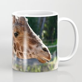 Baringo Giraffe with Child Coffee Mug