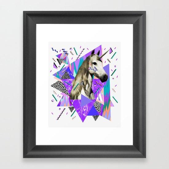 ACID WAVVES Framed Art Print