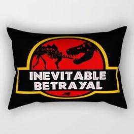 Jurassic Betrayal Rectangular Pillow