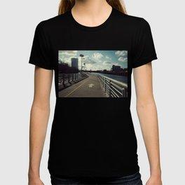 river walkin' T-shirt