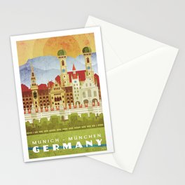 Munich Germany Stationery Cards