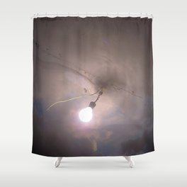 Expulsion Shower Curtain