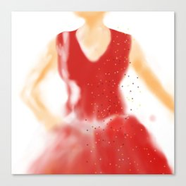 red as red Canvas Print