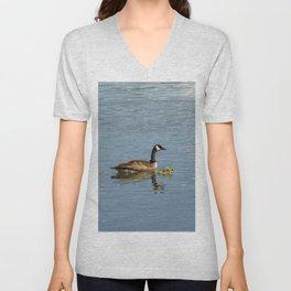 Goose and Gosling Unisex V-Neck
