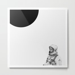 Neil Armstrong / Walk on the Moon. Metal Print