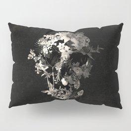 Spring Skull Monochrome Pillow Sham