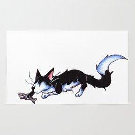 Sharknip Rug