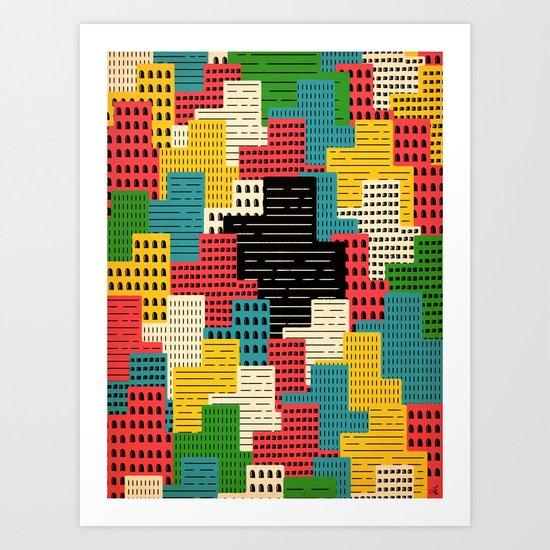 Buildingburgh Art Print