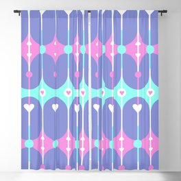 Unicorn Guts // Spring Hearts Blackout Curtain