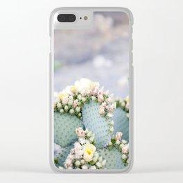 Dreamy Cactus Clear iPhone Case