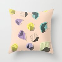 play Throw Pillows featuring Play  by Leandro Pita