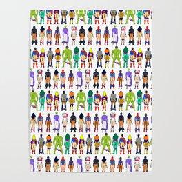 Superhero Butts - Power Couple Poster