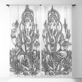 Ganesh Sheer Curtain