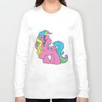 my little pony Long Sleeve T-shirts featuring My Little Bowie Pony by Melina Espinoza