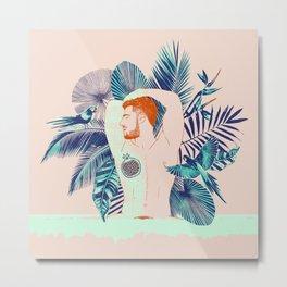 Tropical boy Metal Print