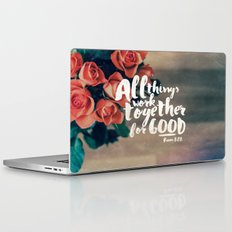 All Things Work Together For Good (Romans 8:28) Laptop & iPad Skin