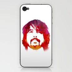 D. Grohl iPhone & iPod Skin