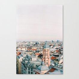 Vienna During a Sunset 2 Canvas Print