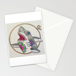 Day of The Dead Shark Stationery Cards