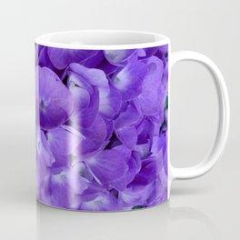 Amethyst  Hydrangea Flowers Garden Art Coffee Mug