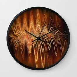 Earth Frequency Wall Clock