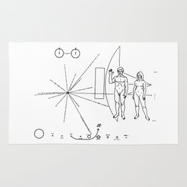 SETI Alien search by NASA Rug