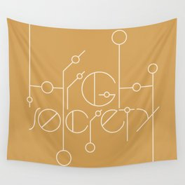 High Society (Gold) Wall Tapestry