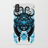 cthulu iPhone & iPod Cases featuring Lovecraftian Cosmic Horror by BlanzyDesign