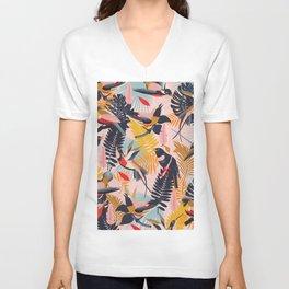 Paradise Birds II. Unisex V-Neck