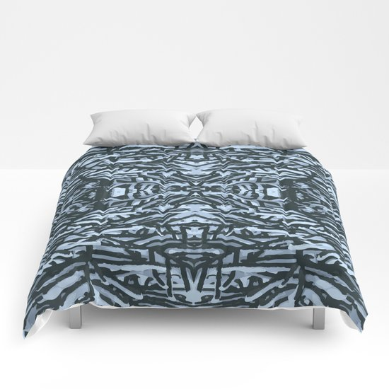 snowy branches Comforters
