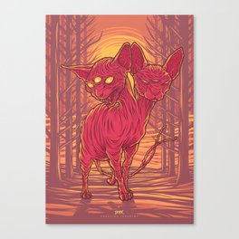 Lovely Dark Creatures series - Cadent Canvas Print