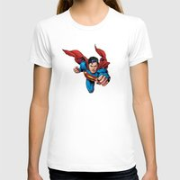superman T-shirts featuring Superman by Yuliya L