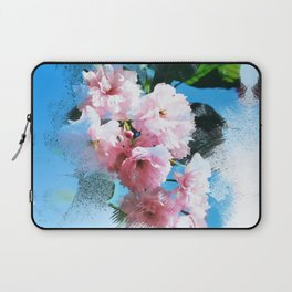 Abstract Cherry Blossom Laptop Sleeve