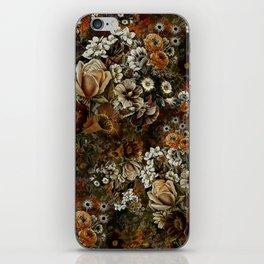 Night Garden Gold iPhone Skin
