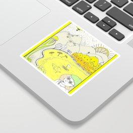 Lemon paradise Sticker