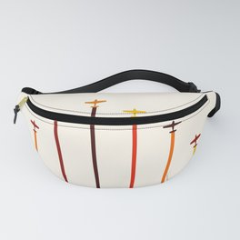 Retro Airplanes 02 Fanny Pack