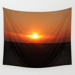 Sunset in Wiltshire England Wall Tapestry