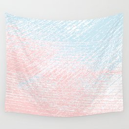 pink pastel and blue pastel Wall Tapestry