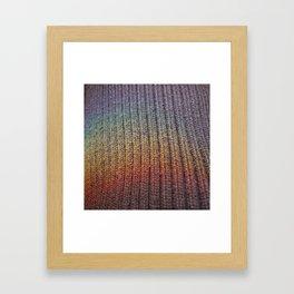 rainbow on a sunday 2 Framed Art Print
