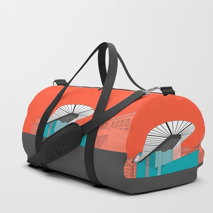 Turquoise Island Duffle Bag