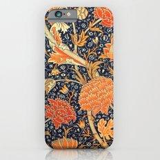 William Morris Cray Floral Art Nouveau Pattern iPhone 6s Slim Case